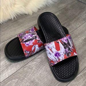 Nike Shoes - WMNS Benassi JDI Print